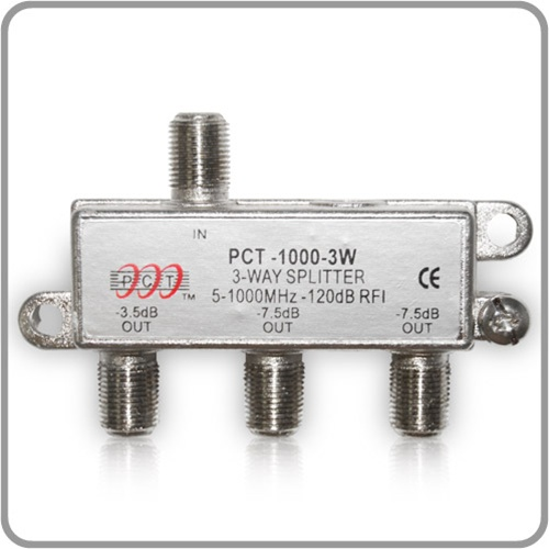 Splitter 3 Way Cable 3 Way Splitter For rf