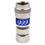 RG6 F connector universal locking compression fitting PCTTRSXL6LKMG