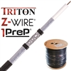 RG6 MOCSY®7 TRITON enhanced base shield tape with Z-Wire® anti-corrosion protection and 1PreP® rapid installation ATZ677TSBVV1P