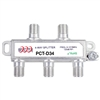 4 way splitter for RF applications PCTD34