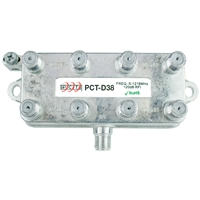 8 way splitter for RF applications PCTD38