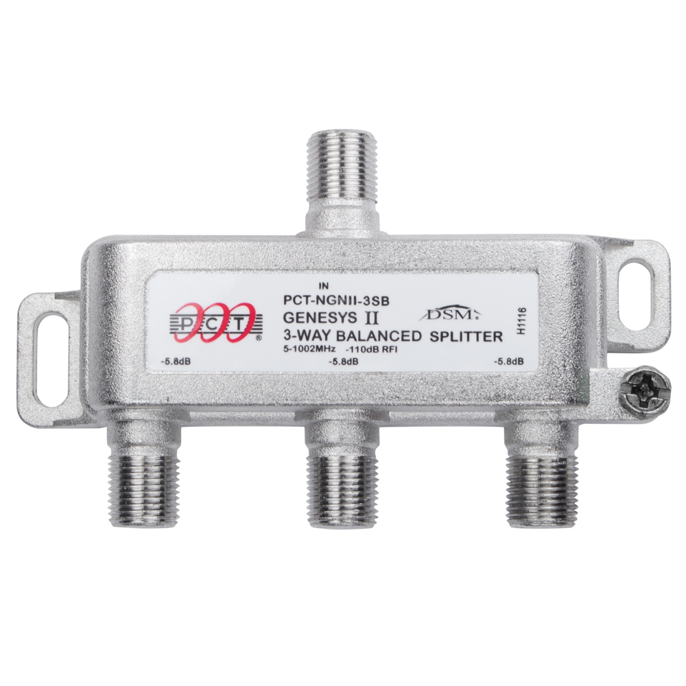 3 Way Cable Splitter : Way splitter for rf applications pctngnii sb pct store