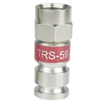 RG59 F connector universal compression fitting PCTTRS59