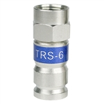 RG6 F connector universal compression fitting PCTTRS6