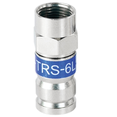 RG6 F connector universal locking compression fitting PCT-TRS-6L