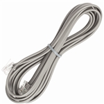 Satin Phone Cord - 4 Conductor, 26 AWG, 7 ft: PCT-TCA-155